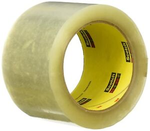 Scotch Carton Sealing Tape clear 72mm X 100m 372 Pack Of 1