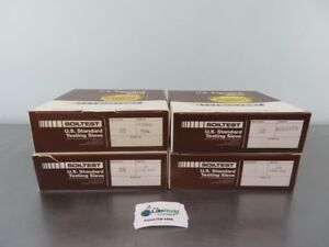 Soiltest Us Standard Testing Sieve Lot Of 4 With Warranty