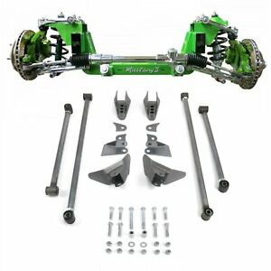 Mustang Ii 2 Ifs Front Rear Suspension 1 3 In Lowering Kit For 67 79 Ford Truck