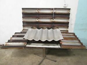 Lot Of 12 chicago Metallic Assorted Baguette french Bread Aluminum Baking Pans