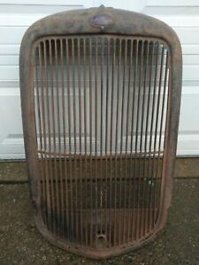 1932 Ford Grill Shell Pickup Truck Commercial Original Henry Ford 33 34 Patina