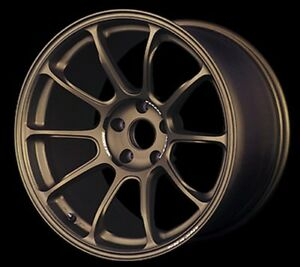 Rays Ze40 19x8 5j 9 5j 38 40 5x114 3 Bronze For Lexus Set Of 4 From Japan