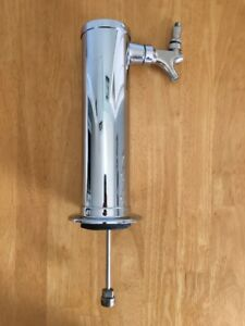 Vintage Perlick Milwaukee Beer Tap Single Tower Chrome Stainless Faucet Kegerato