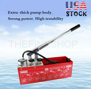 Hydraulic Pressure Test Pump 50bar Hand Pump Manual 800psi 1 2 Rp 50 Us