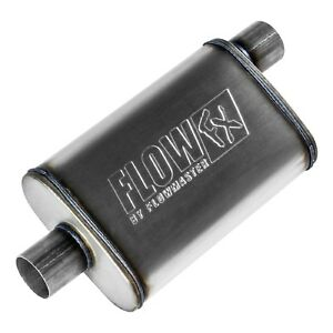 Flowmaster 71226 Flow Fx Moderate Sound Muffler W 2 5 Offset In 2 5 Center Out