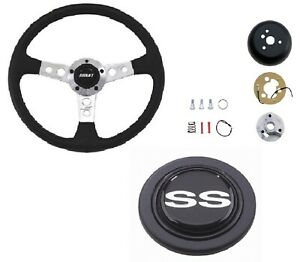 Grant Collector s Steering Wheel installation Kit ss Horn Button For Caprice