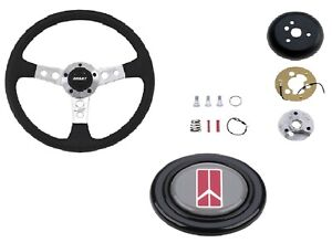 Grant Collector S Steering Wheel Installation Kit Olds Horn Button For Cutlass