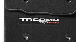 Toyota Oem 2018 Tacoma Trd Offroad Floor Mat Pt206 35089 02 Factory 4 Piece