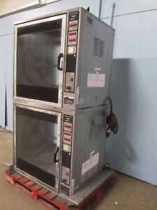 henny Penny scr 8 H d Commercial Dbl Stacked Digital Electric Rotisserie Oven