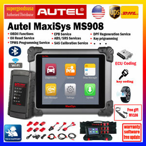 Autel Maxisys Ms908 Ecu Programmer Obd2 Diagnostic Scanner Key Coding As Ms908p