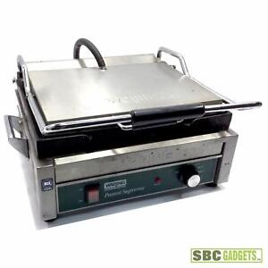 Waring Commercial Wdg250 120v Italian style Large Panini Grill