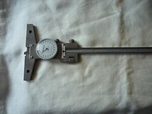 Mitutoyo 527 Series Dial Depth Gauge 12 Inches
