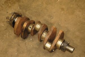 Crankshaft F0nn6300ma Ford 555b Backhoe