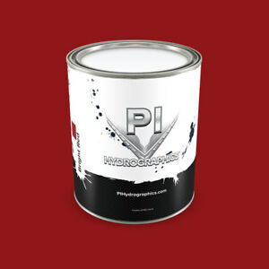 Pi Hydrographic Water Based Paint Pint Hydro Dipping Paint bright Red