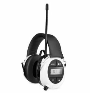 Safety Works Bluetooth Hearing Protection Am fm Radio Mp3 New