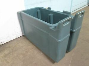 cambro camchiller Cart Cpc13134 Commercial H d Poly Cart cold Food Carrier