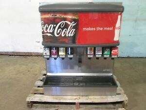 lancer 4500 Hd Commercial nsf Lighted 8 Heads Soda W ice Dispenser Machine