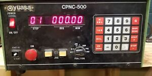 Yuasa Cpnc 500 Control Box Controller For Indexer Rotary Table