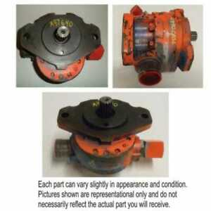 Used Hydraulic Charge Pump Compatible With Case 4694 4894 4890 4494 4690 4490