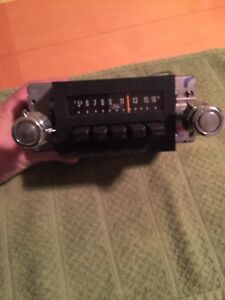 Oem Ford Mustang thunderbird Am Radio 1970 1980s