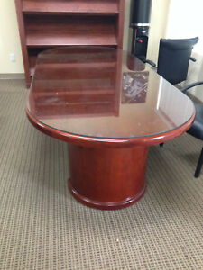 Conference Table With Glass Top Used
