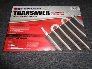 Heavy Duty Hayden Transaver Ultra cool Automatic Transmission Oil Cooler Oc1405