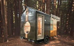 Tiny Home Tiny House Tiny Shop On Wheels Travel Trailer Camper Studio