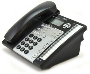 At t 1070 4 Line Expandable Business Phone With Caller Id Intercom
