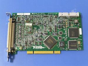 National Instruments Pci 6071e Ni Daq Card 1 25ms sec Analog Input Multifunction