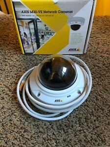 Axis M3025 ve Network Camera Outdoor ready Day night Fixed Dome With Hdtv 1080p