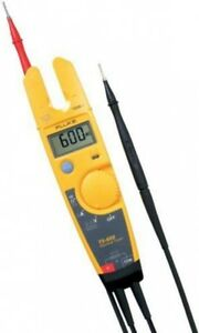 Fluke T5 600 Voltage Continuity And Current Digital Electrical Tester Meter