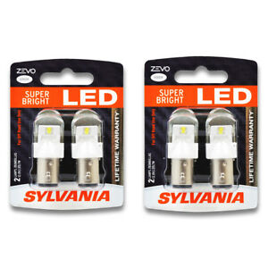 Sylvania Zevo Two 2 Packs 1157led Led Bulb Turn Signal Parking Side Vn