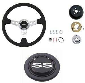 Grant Collectors Steering Wheel Installation Kit Chevy Ss Horn Button For Camaro