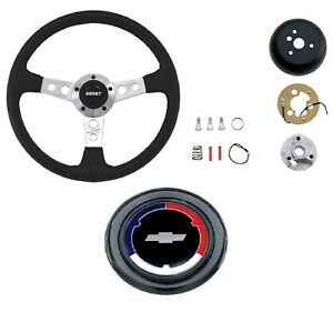 Grant Collector S Steering Wheel Installation Kit Rwb Chevy Horn Button For Luv