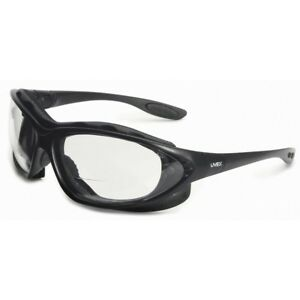 Uvex Seismic Bifocal Safety Glasses Goggles Clear Anti fog Lens Z87