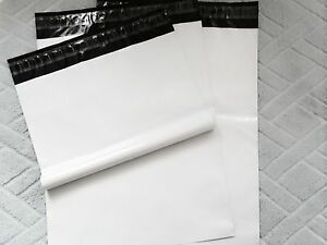 300 12x16 White Poly Mailer Shipping Bags 2 5mil best Quality usps Priority Mail