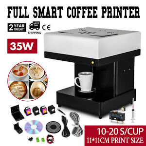 Diy Art Coffee Drinks Printer Machine Chocolate Cake Milkshake Food Printer 110v