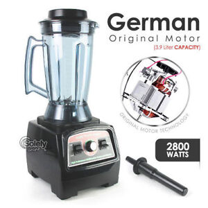German Motor Heavy Duty Commercial Blender 3 9l 2800w Food Processor Mixer