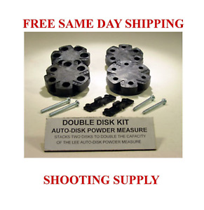 90195 * LEE DOUBLE DISK KIT * AUTO DISK POWDER MEASURE FREE SHIPPING