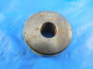 1 Morse Taper 4720 Diameter Smooth Plain Bore Ring Gage Inspection Tooling