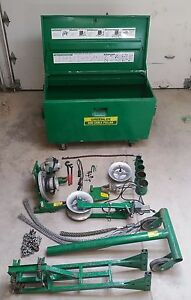 Greenlee 686 Cable Wire Pulling System Tugger Puller 640 649 665