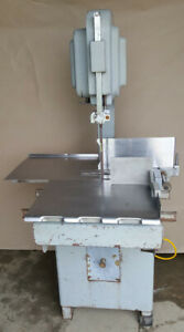 Hobart Commercial 5313 Butcher Deli Meat Beef Slicer Band Saw 230v 1 Phase 1 5hp