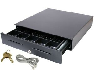 Apg Vasario 16 Cash Drawer Comes With Connection Cable And Key