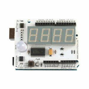 4x 7 segment Arduino Compatible Shield