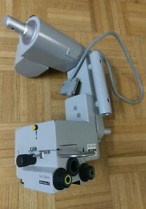 Carl Zeiss Retrolux 3 Head W Opmi Cs Arm For Surgical Microscope W F175 T Obj
