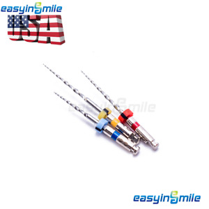 3files Dental Rotary Endo Files For Root Canal Re treatment Assorted Easyinsmile