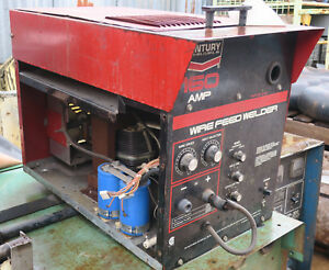 Century 160 Amp Wire Feed Welder 117 037 For Parts