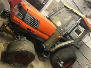 Kubota L4200 Compact Tractor With Cab A c Needs Repair