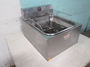 cecilware Heavy Duty Commercial nsf Counter top 240v 1ph Electric Fryer