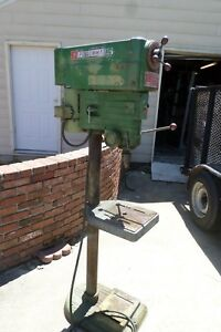Vintage Powermatic 1150 Drill Press Floor Model 1ph 110v